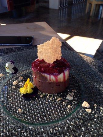Durbanville, South Africa: Chocolate dessert
