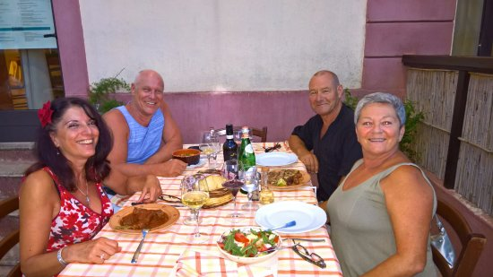 Castrignano del Capo, Italia: With friends