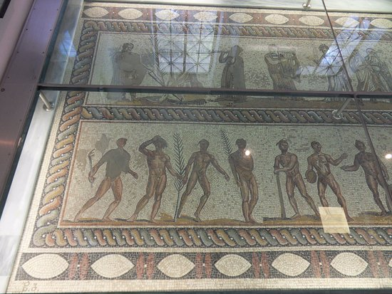 Museum of the Olympic Games: Mosaics