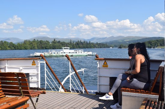 Bowness-on-Windermere, UK: View from The Swan