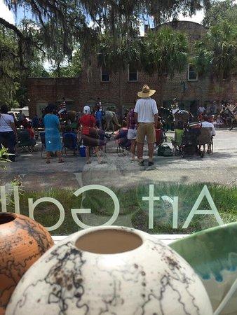 Micanopy, FL: July 4th parade