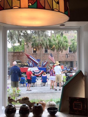 Micanopy, FL: July 4th parade