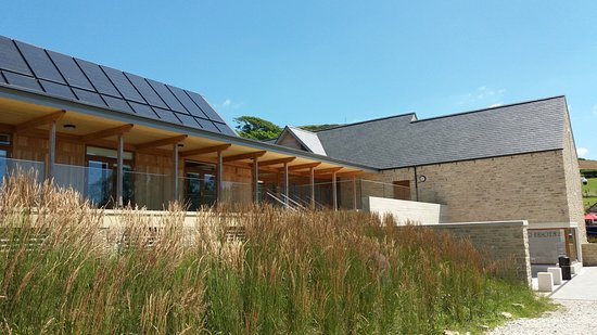 Kimmeridge, UK: A clean and lovely modern building