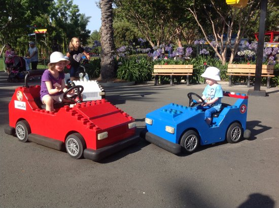LEGOLAND California: автодром