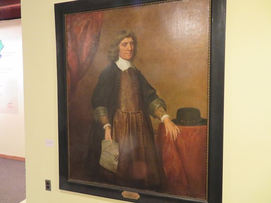 Historic St. Mary's City: Lord Baltimore Portrait in the visitor Center