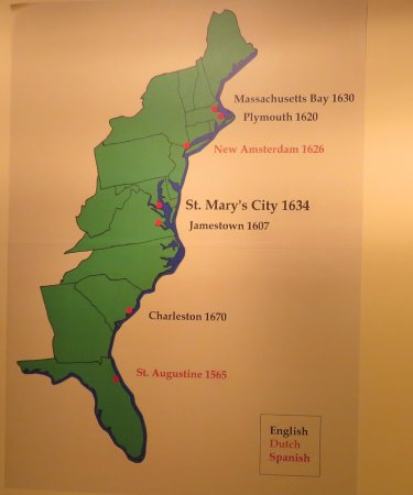 Saint Mary's City, MD: Atlantic Coast of Colonial America