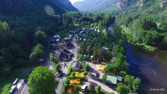 Ornolac-Ussat-les-Bains, Fransa: Camping Ornolac