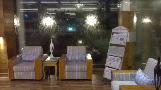 Hotel Blue Nile: Hotel Lobby