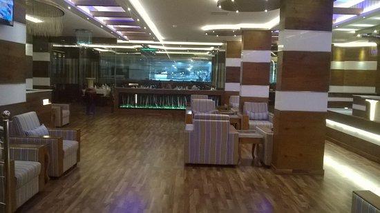 Hotel Blue Nile: Lobby and Restaurant