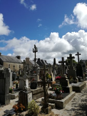 Locronan, ฝรั่งเศส: cimitero