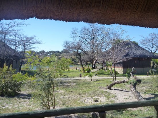 Rundu, Namibia: View from porch