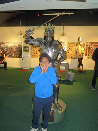 Sutton Cheney, UK: About to be decapitated by Richard III