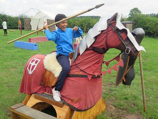 Sutton Cheney, UK: Light cavalry