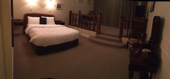 Croydon, Australia: Room 3: cozy and does have a decent heater