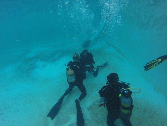 Sodwana, Güney Afrika: Scuba Diving courses in progress