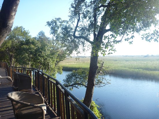 Caprivi Region, Namibia: View from restaurant