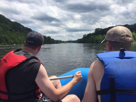 Shawnee on Delaware, PA: rafting