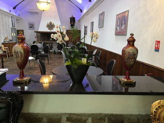 Valencay, Frankrijk: Vue de la salle de restaurant