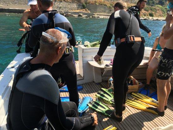 Giardini-Naxos, Włochy: diving