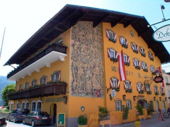 Radstadt, Austria: Das ist die Vorderansicht unsere Hotel Restaurants