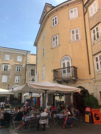 Muggia, İtalya: Tutto molto grazioso. Fabio Cremona ( il presidente)