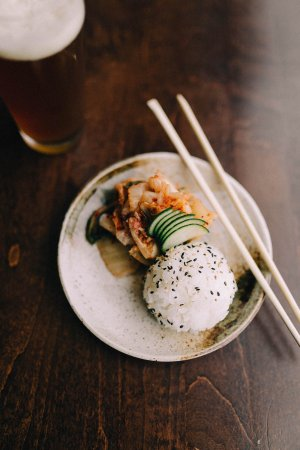 Midland, MI: Kimchi and Rice