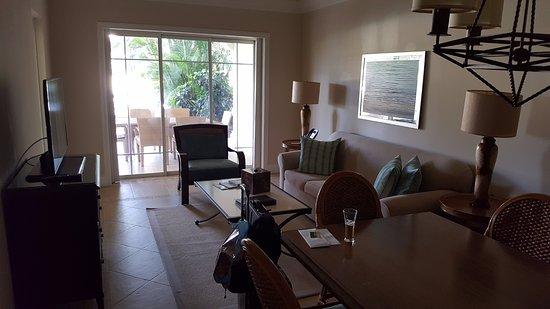 The Landings Resort & Spa: Living room