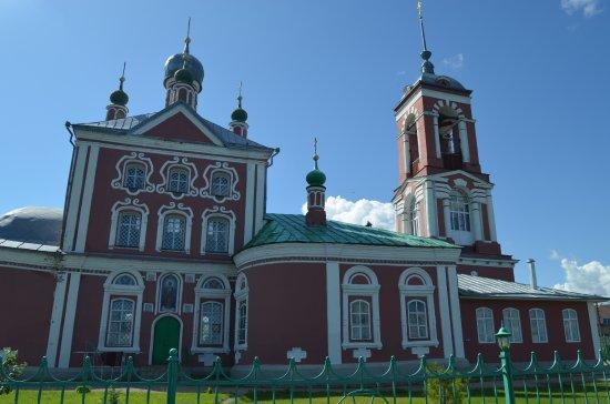 Pereslavl-Zalessky, Ryssland: Церковь. Вид сзади