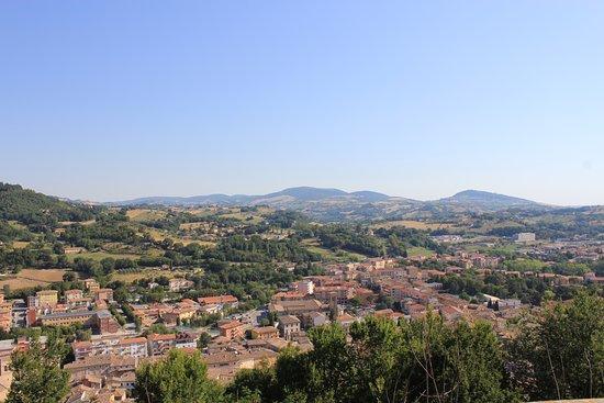 San Severino Marche, Italië: panorama