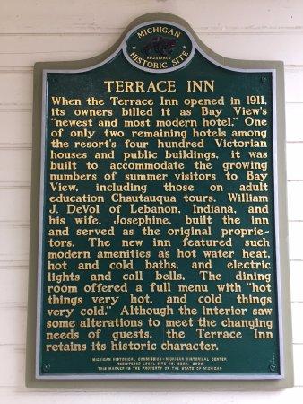 Petoskey, ميتشجان: Historic plaque