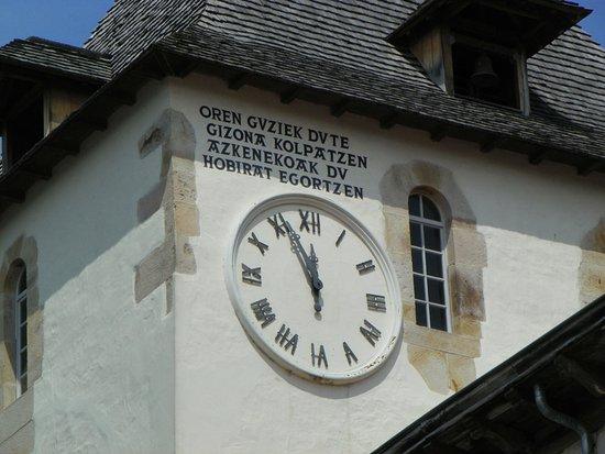 Sare, Frankrijk: horloge du clocher