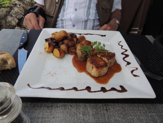 Blaye, ฝรั่งเศส: mignon de porc avec ces champignons