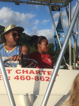 Gros Islet, Sta. Lucía: Captain Lolo
