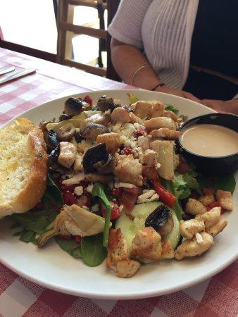 Glen Burnie, MD: Mediterranean Chicken Salad