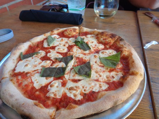 Blue Ribbon Artisan Pizzeria: Basic Pizza we ordered for child - No menu for Little ones