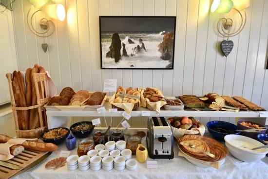 Bangor, France: Buffet petit-déjeuner