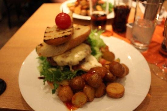 Geilo, Norvegia: Jims burger