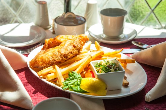 Dundee Arms Inn: Fish and Chips