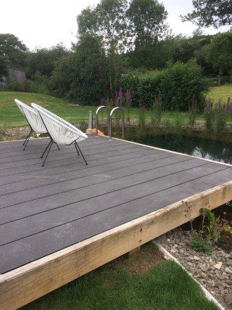 Bucknell, UK: The deck