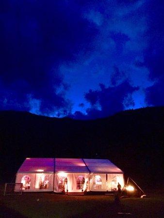 Laax, Suíça: Zelt in Larnags