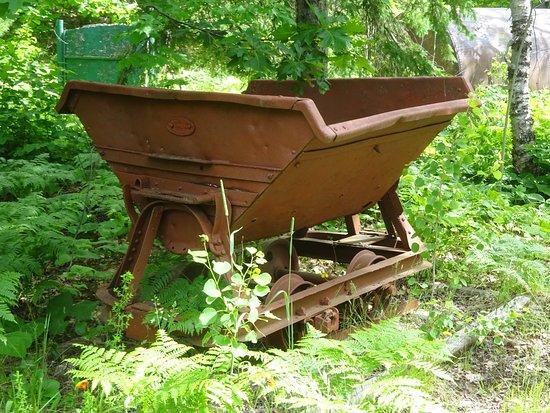 Mohawk, MI: An old mine cart