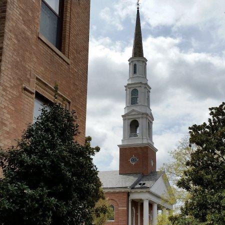 Chapel Hill, NC: Clocher d'un église