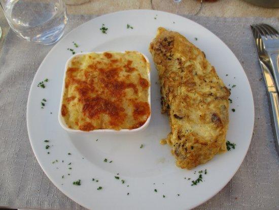La Cavalerie, Γαλλία: Omette aux cèpes, truffade