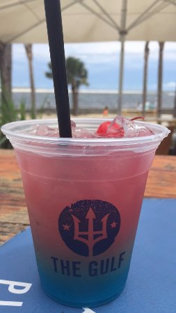 The Gulf: Great food, great drinks, great view!!