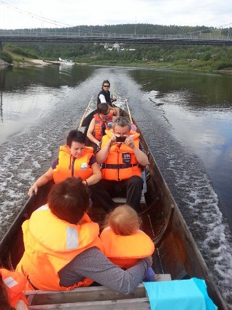 Karasjok, Norge: Trip downstream