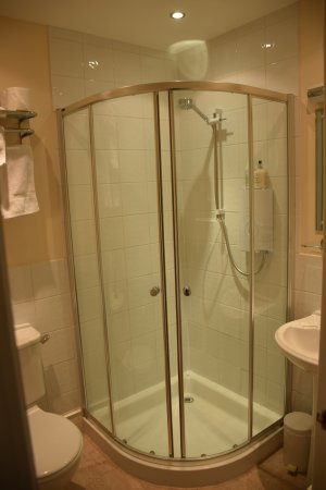 Buccleuch Guest House: As With Most European Bathrooms, The Shower Is A  Tight Fit