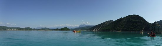 Escalona, España: Panorámica haciendo Kayak