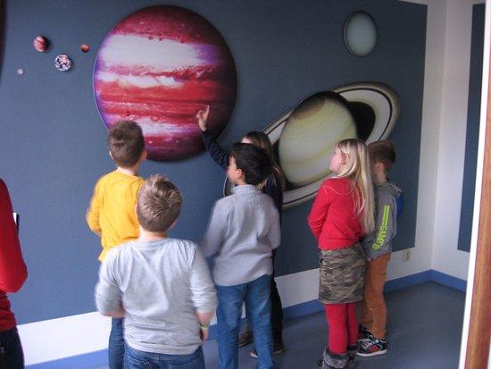 Franeker, Hollanda: In het vernieuwde planetarium