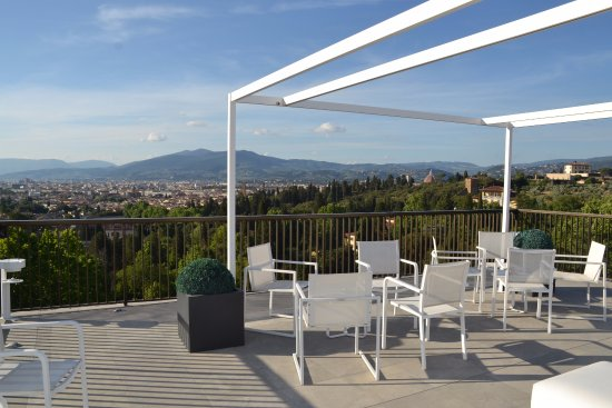Rooftop terrace view of florence picture of villa cora for 104 terrace view ave