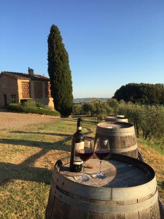 Agriturismo Castel di Pugna: sunset spot